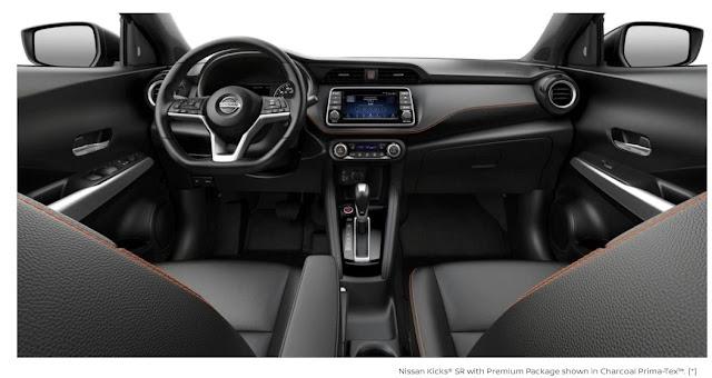 Interior Nissan Kicks Terbaru