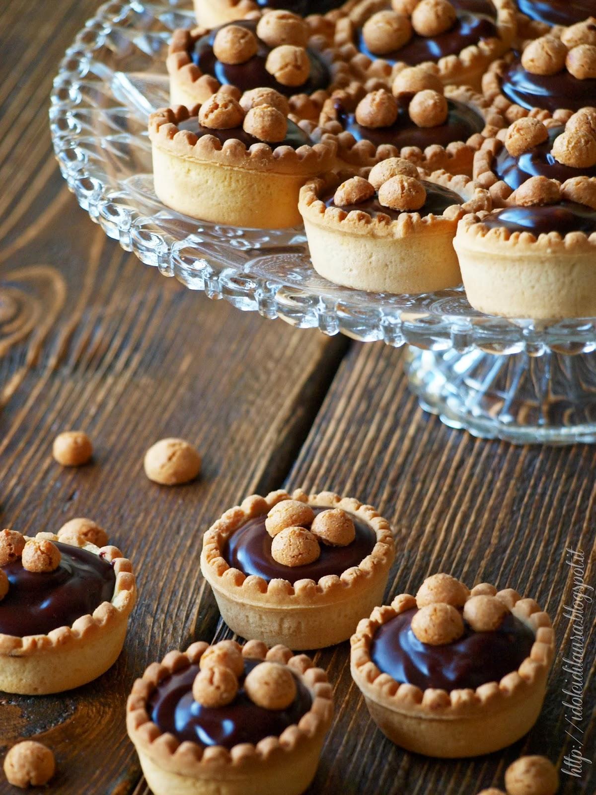 Amato i dolci di laura: Pasticcini mignon al cioccolato ZF47