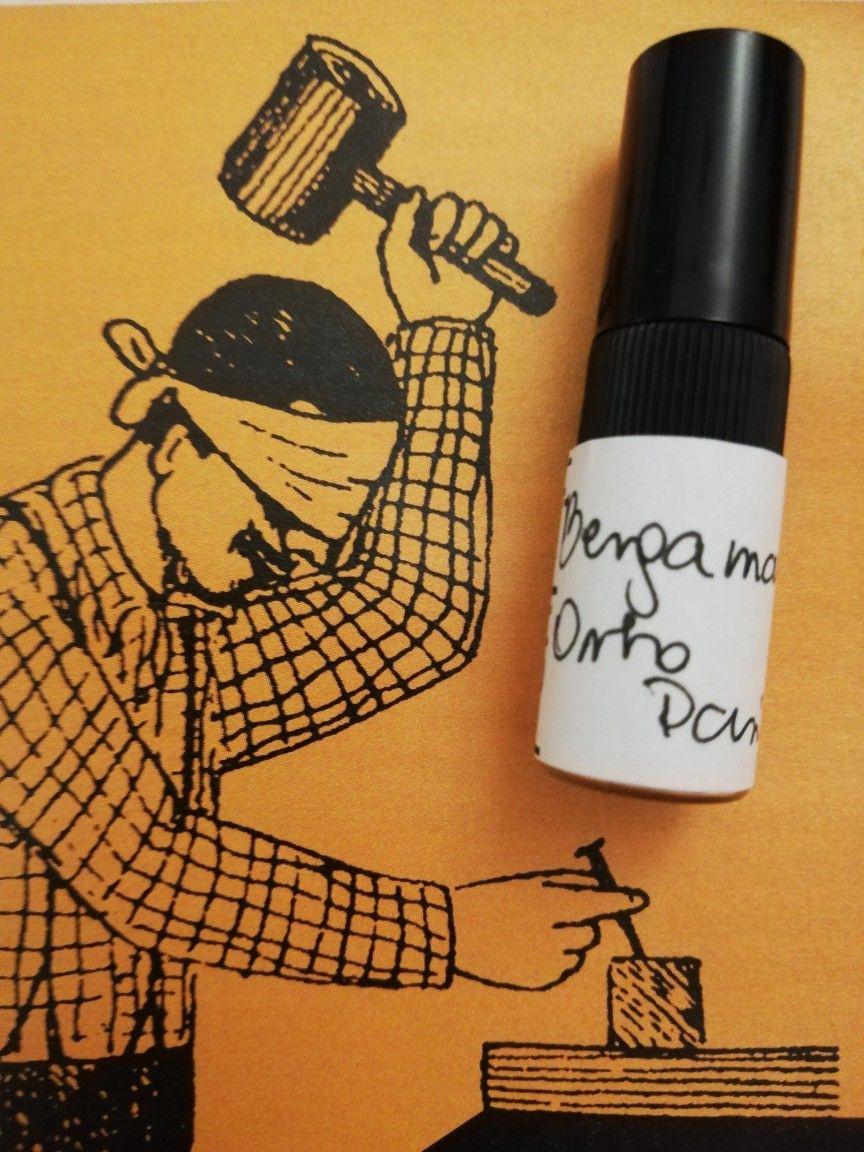 Bergamask Orto Parisi - jedyna na tym blogu refleksja o zapachu z próbki