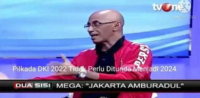 Sebut Jakarta Amburadul, Megawati Ditantang Tunjuk Jagoan Hadapi Anies Baswedan di 2022