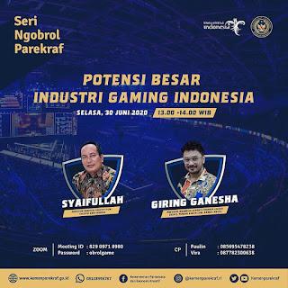 Potensi Besar Industri Gaming Indonesia