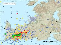 Magma har stigit till två kilometers djup på Reykjanes