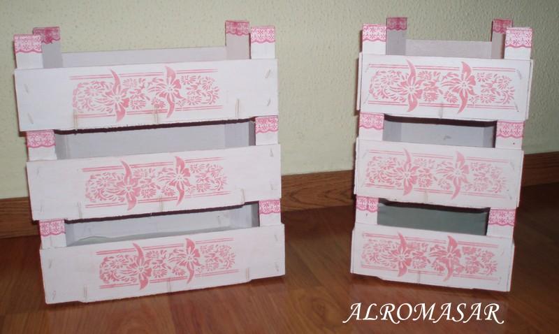 Alromasar de cajas de fresas a contenedores de recuerdos - Cajas de madera para chuches ...