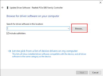 Cara Manual Install Driver yang hilang di Windows 10 dengan Mudah