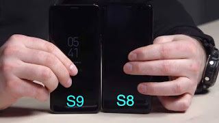 s9 and s8 frontview