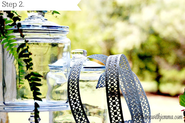 glass-jars-diy-project-fall-holiday-ideas-metal-ribbon-athomewithjemma