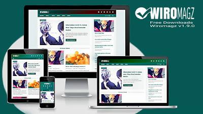 Download Template Wiromagz v1.9.0 Gratis