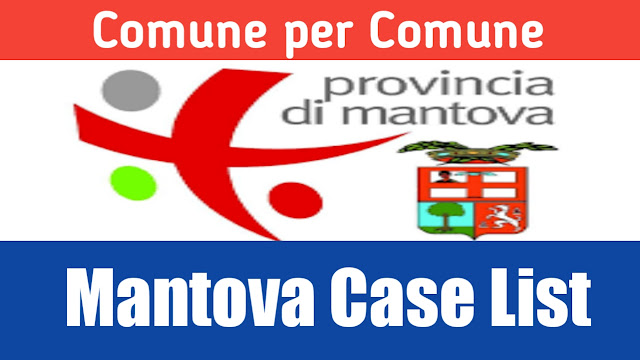 Comune de hisab nal Mantova di list 26/03/2020
