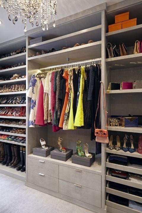 Monique Lhullier luxury fantasy closet
