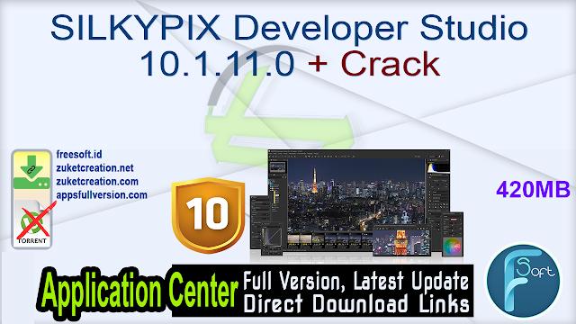 SILKYPIX Developer Studio 10.1.11.0 + Crack