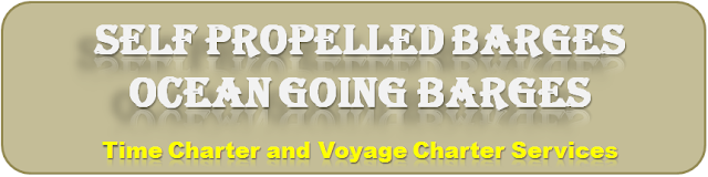 Barge on time charter, barges on rent, barge on voyage charter