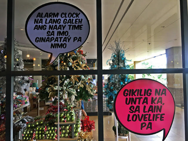 Boy Zugba Funny Bisaya Quotes at Boy Zugba Centrio Mall Cagayan de Oro