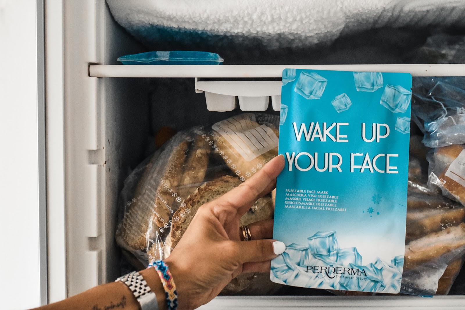 maschera da tenere in freezer