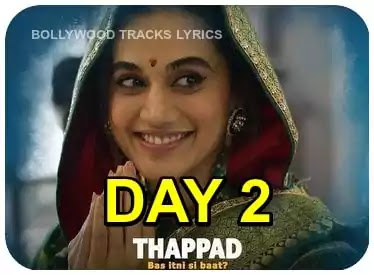 Thappad-Box-Office-Collection-Day-2