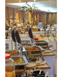 Breakfast  Seru di Grand Elite Hotel Pekanbaru