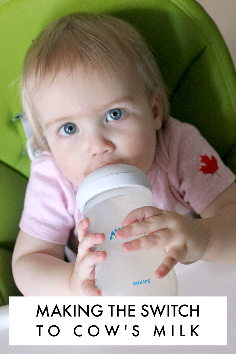 Making the Switch to Cow's Milk + Giveaway