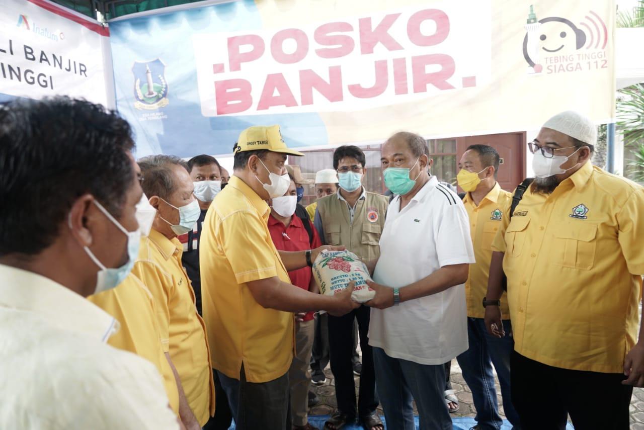 Walikota Tebingtinggi Ajak Stakeholder Serukan Pemerintah Pusat Untuk Pengendalian Sungai Padang