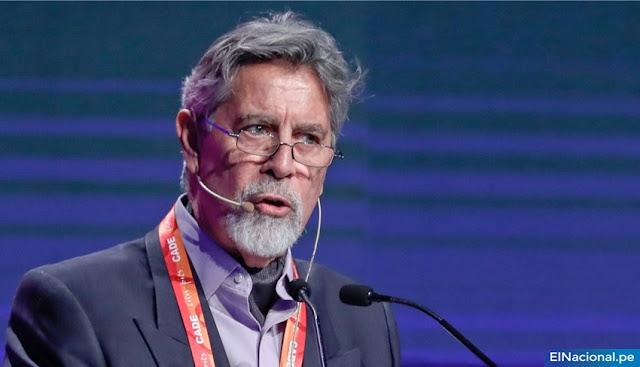 OEA reconoce a Francisco Sagasti como presidente del Perú