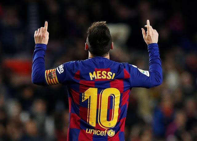 ميسي.. بطل أرقام مباراة برشلونة وفالنسيا في الدوري الإسباني