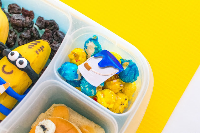 How to Make a Despicable Me Banana Minions Lunch Recipe!