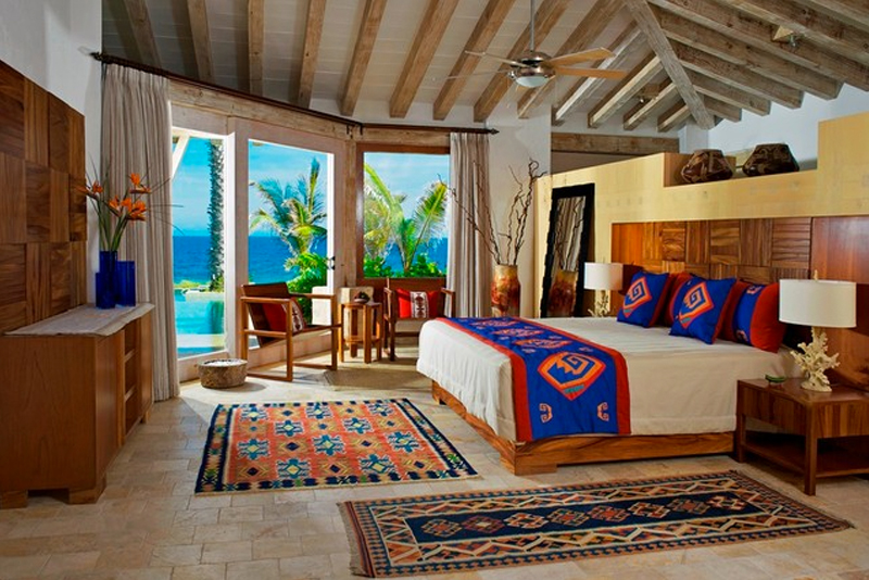 spanish inspired bedroom