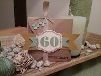 Geschenkidee zum 60. Geburtstag