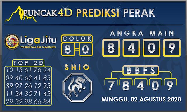 PREDIKSI TOGEL PERAK PUNCAK4D 02 AGUSTUS 2020