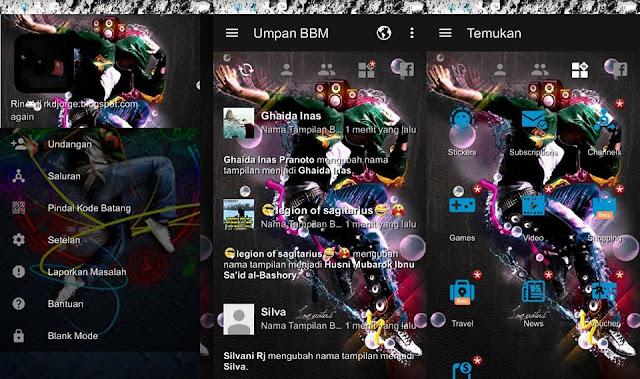 BBM MOD Music versi 3.2.0.6 Screenshot