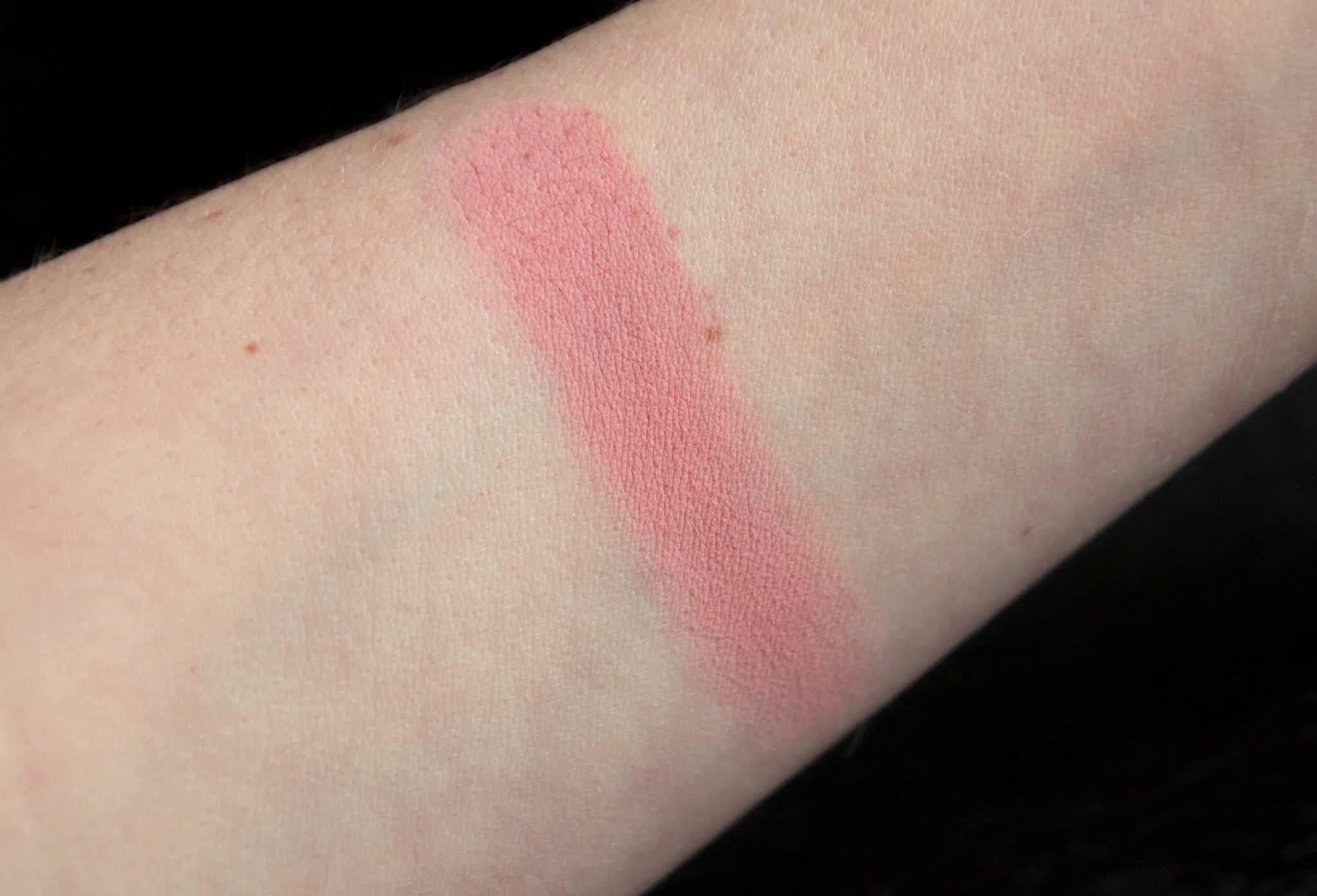couleur caramel blush swatch