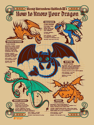 How To Train Your Dragon Screen Print by Dave Perillo x Phenom Gallery