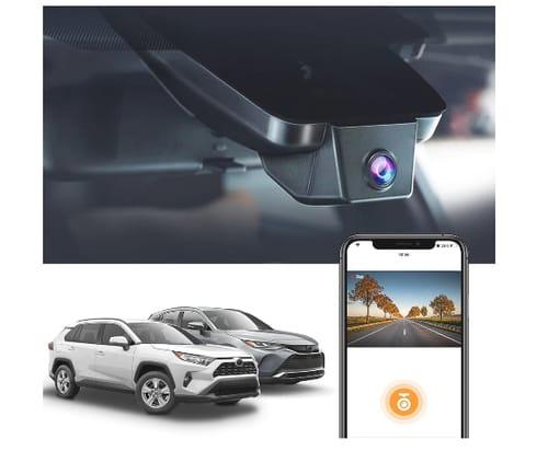 FITCAMX 4K UHD Dash Cam for Toyota RAV4 2019-2021