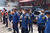 Petugas Gabungan Kecamatan Tambora Gelar Operasi Yustisi Protkes Di Dursel