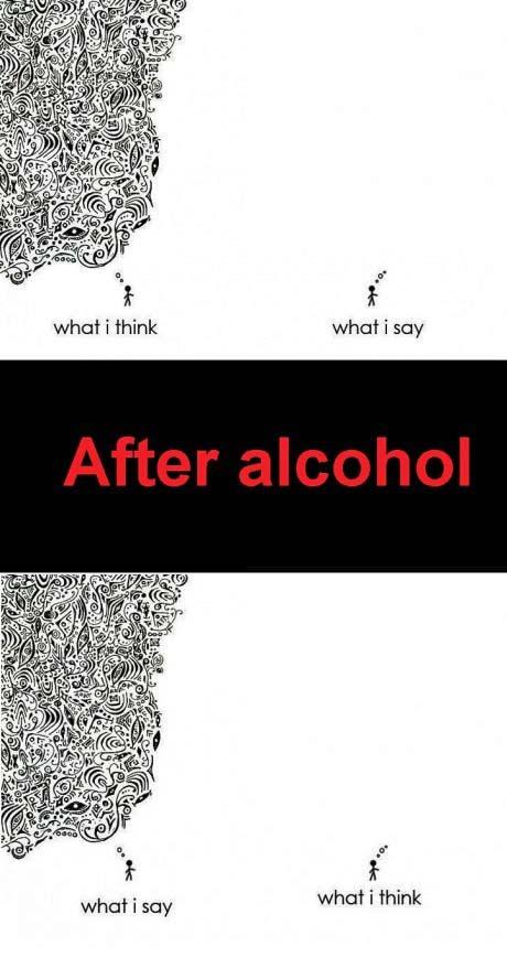 Alkohol lustige Sprüche