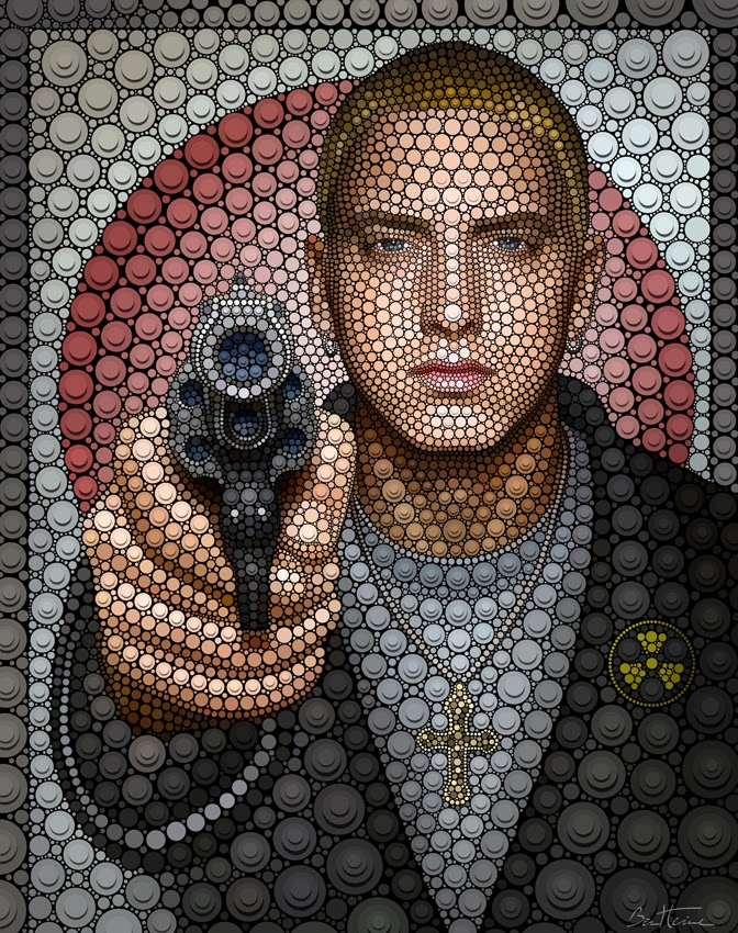 03-Eminem-Ben-Heine-Painting-&-Sculpture-Digital-Circlism-Portraits-www-designstack-co
