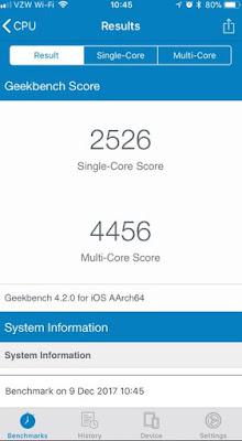 hasil benchmark setelah ganti baterai