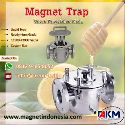 Magnet Trap Liquid Untuk Pengolahan Madu