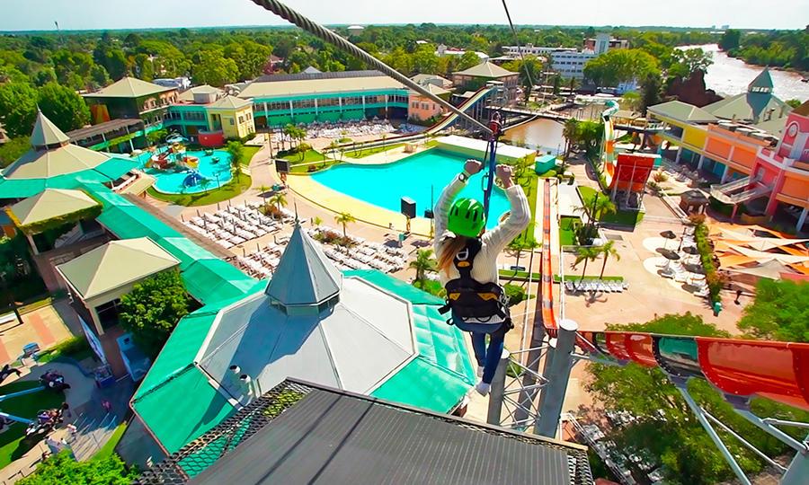 Aquafan Aventura, un nuevo parque de diversiones llega al Polo de Entretenimiento de Tigre