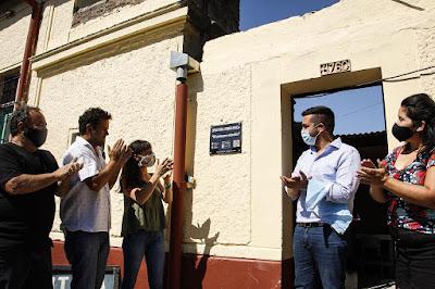 """La sede del EPI """"Mi Primera Estación"""" fue inaugurada en la Biblioteca Popular Monte Chingolo"""