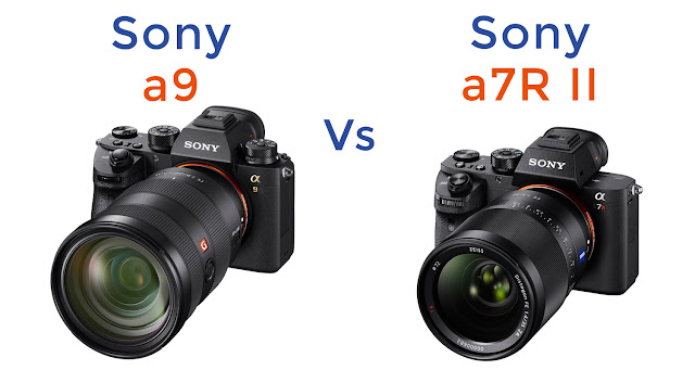 Sony a9 vs Sony a7R II Comparison