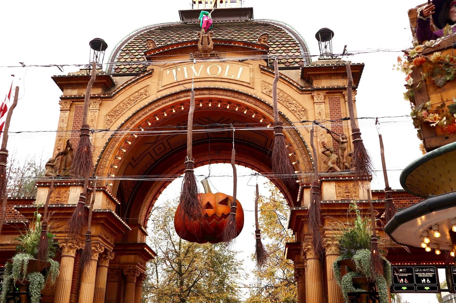 Visit Tivoli Gardens at Halloween time