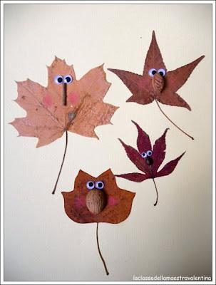 ideas con hojas de otoño pinterest
