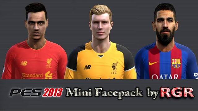 PES 2013 Mini Facepack