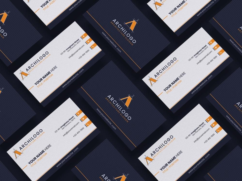 Free Vibrant Elegant Business Card Design