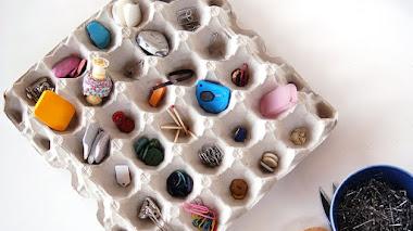 12 ideas para organizar los cajones con cartones de huevos