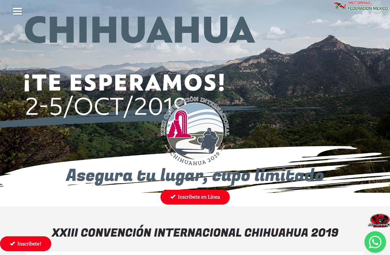 XXlll CONVENCIÓN INTERNACIONAL MOTORRAD CHIHUAHUA 2
