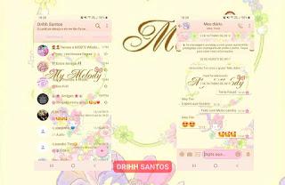 Flowers & Melody Theme For YOWhatsApp & Fouad WhatsApp By Driih Santos