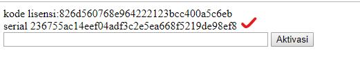 Membuat Proteksi Script PHP dengan Serial Number