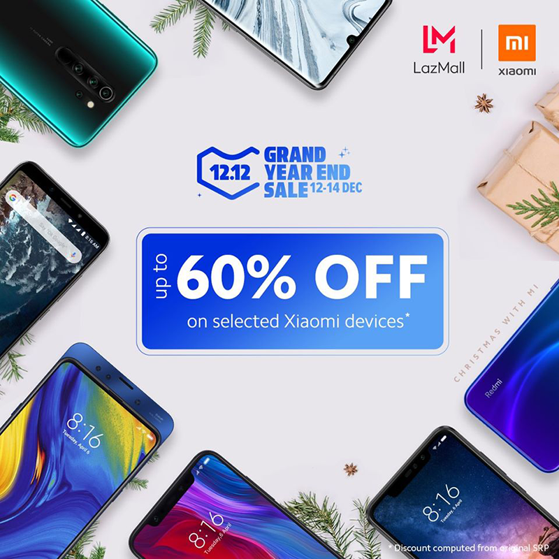 Xiaomi announces Lazada 12.12 deals, price starts at PHP 2,490!