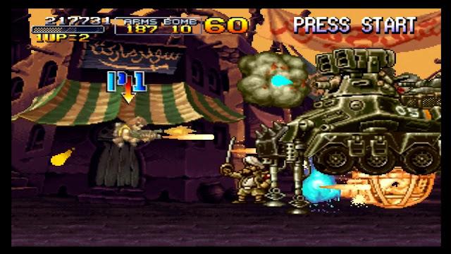 تحميل لعبة حرب الخليج Metal Slug X
