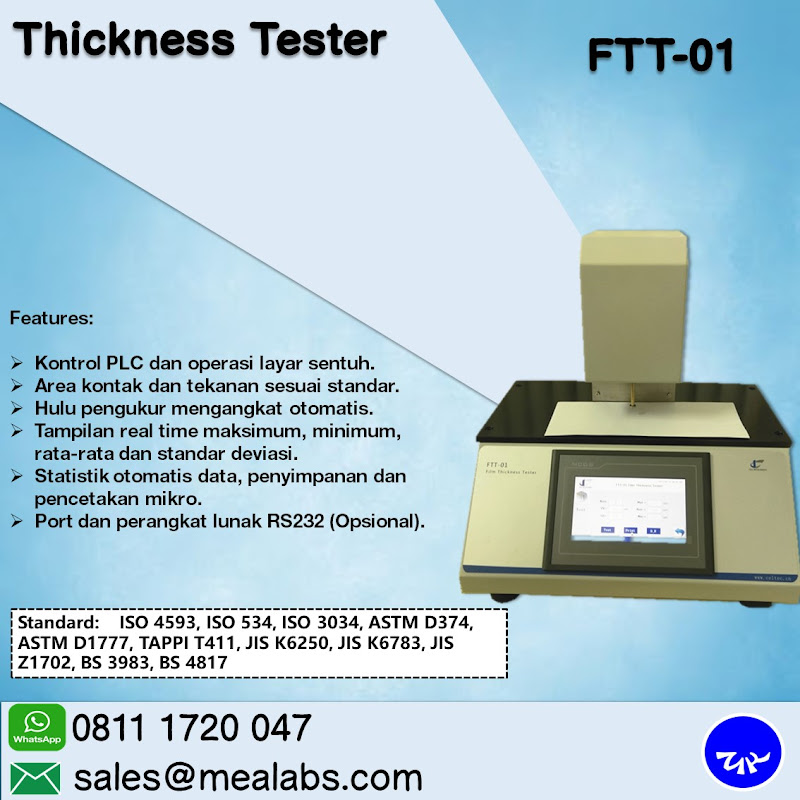 FTT-01 Thickness Tester
